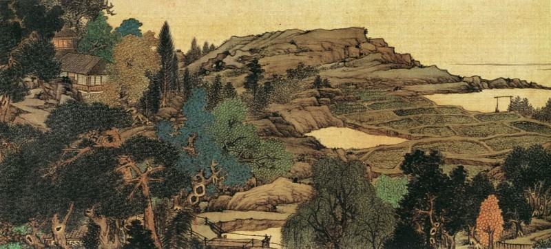 Ren Xiong. Chinese artists of the Middle Ages (任熊 - 十万图)