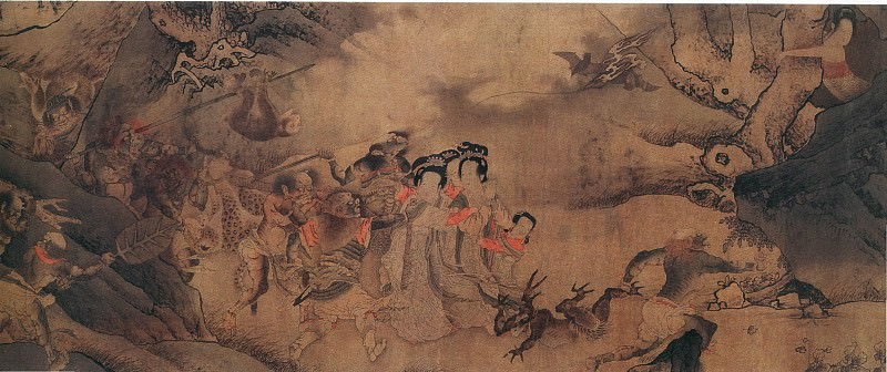 Unknown. Chinese artists of the Middle Ages (佚名 - 搜山图)