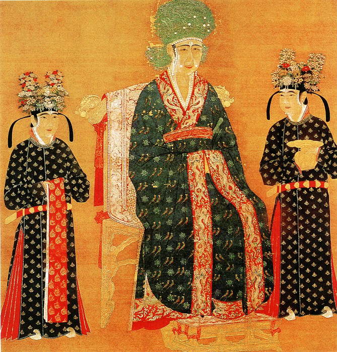 Unknown. Chinese artists of the Middle Ages (佚名 - 宋仁宗皇后像)