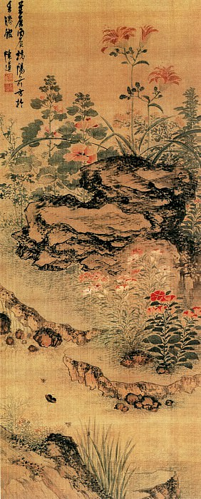 Chen Zun. Chinese artists of the Middle Ages (陈遵 - 柳岸立凫图)