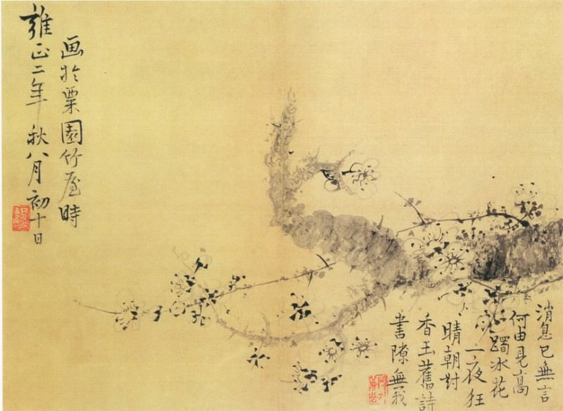 Wang Shugu. Chinese artists of the Middle Ages (王树毂 - 杂画图(之一、二))