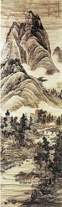 Zou Jie. Китайские художники средних веков (邹拮 - 云峦水村图)