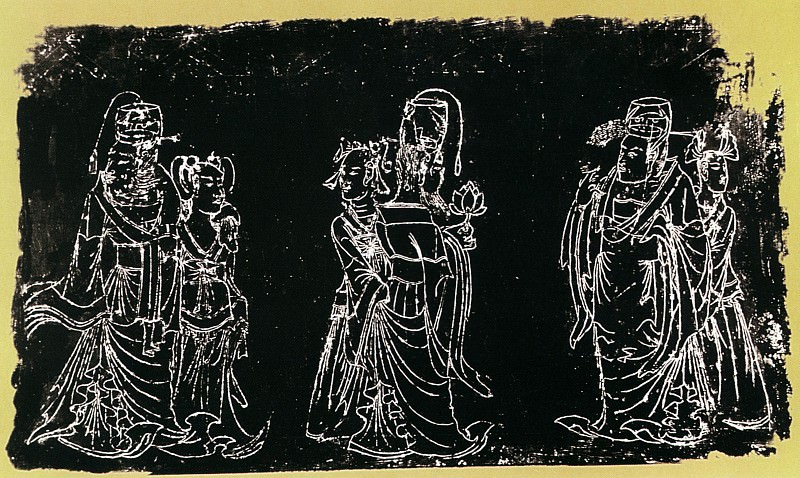 Unknown. Chinese artists of the Middle Ages (佚名 - 宁懋石线画)
