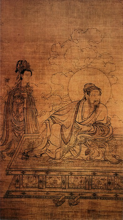 Unknown. Chinese artists of the Middle Ages (佚名 - 维摩天女像)