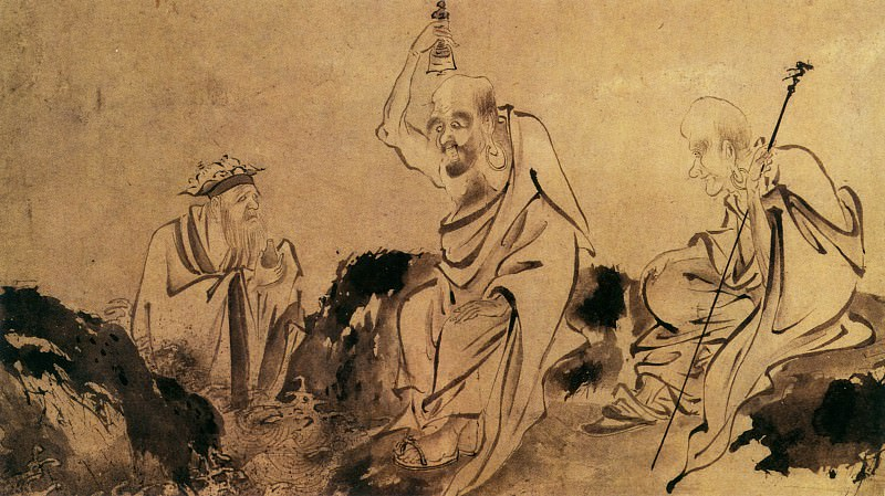 Unknown. Chinese artists of the Middle Ages (佚名 - 罗汉图(部分))