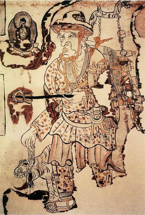 Unknown. Китайские художники средних веков (佚名 - 行脚僧图)