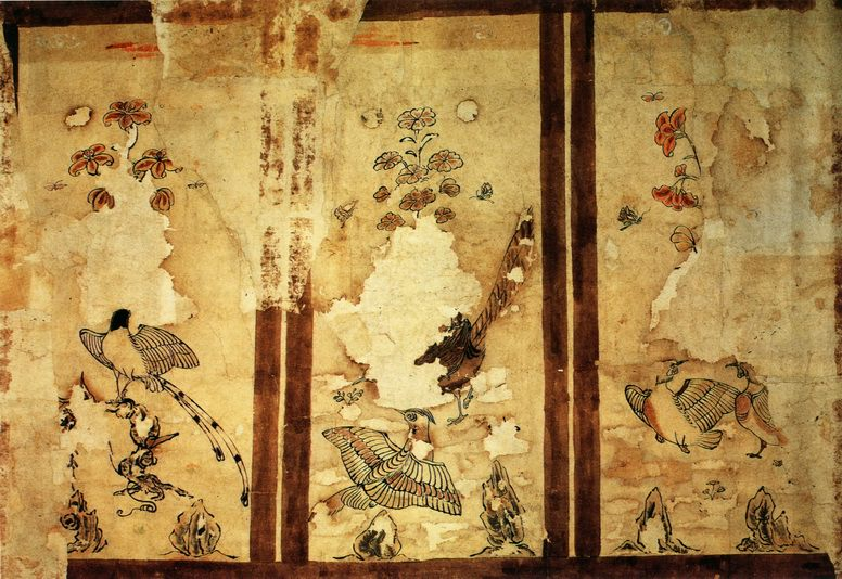 Unknown. Chinese artists of the Middle Ages (佚名 - 花鸟图)