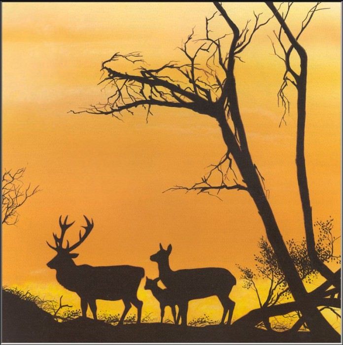 Исчезающий корсиканский олень. PO_Extinct_Animals