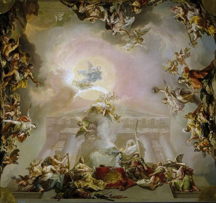 López Portaña, Vicente -- Alegoría de la institución de la Orden de Carlos III. Part 2 Prado Museum
