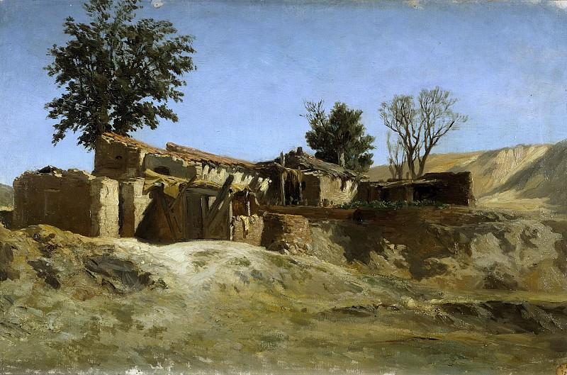 Haes, Carlos de -- Tejares de la montaña del Príncipe Pío. Part 2 Prado Museum