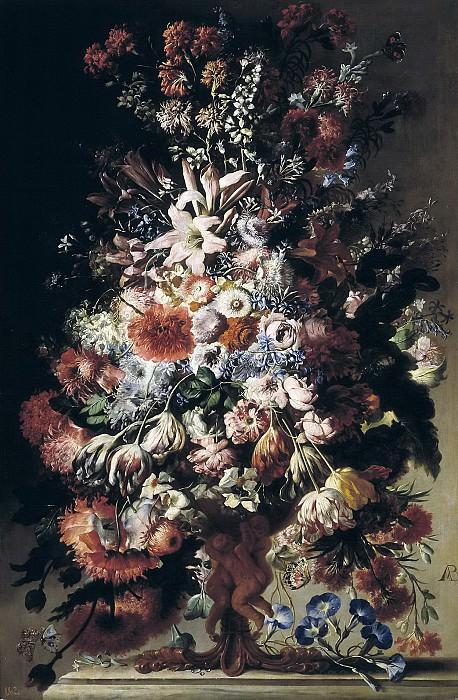 Belvedere, Andrea -- Florero. Part 2 Prado Museum