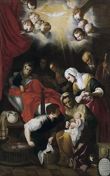 Gilarte, Mateo -- El Nacimiento de la Virgen. Part 2 Prado Museum