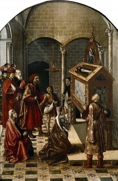 Berruguete, Pedro -- Sepulcro de San Pedro Mártir. Part 2 Prado Museum