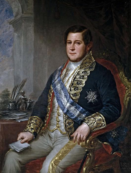 Gutiérrez de la Vega y Carrizo, José -- Juan Bravo Murillo, ministro de Fomento. Part 2 Prado Museum
