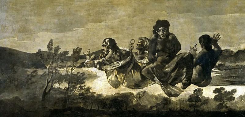 Goya y Lucientes, Francisco de -- Las Parcas, o Átropos. Part 2 Prado Museum