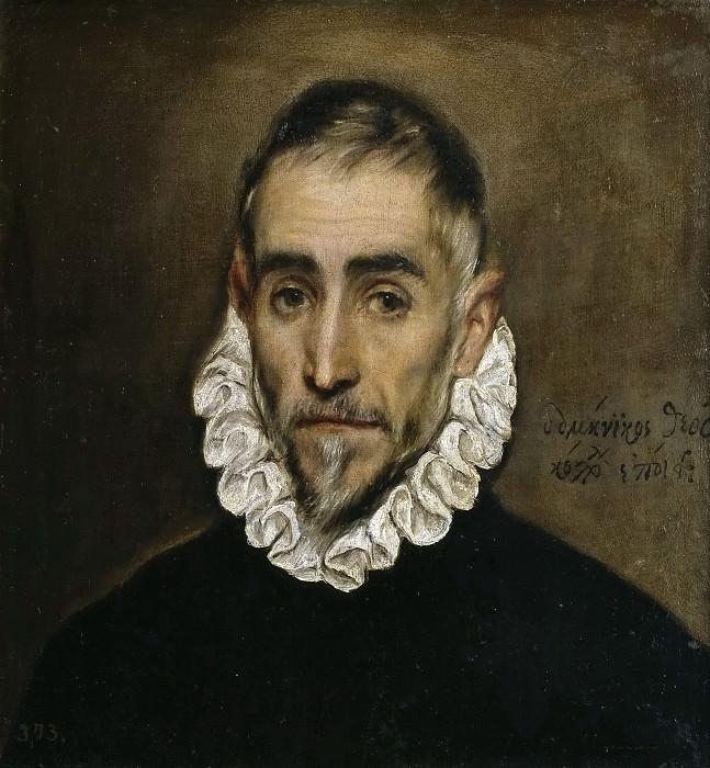 Caballero anciano. El Greco