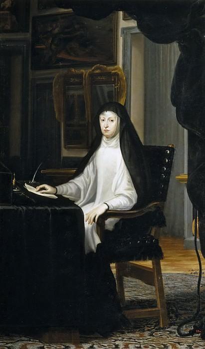 Carreño de Miranda, Juan -- La reina Mariana de Austria. Part 2 Prado Museum