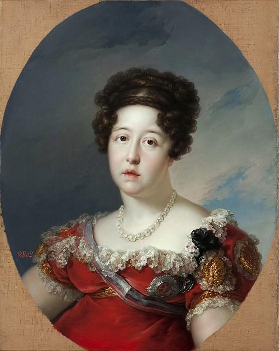López Portaña, Vicente -- María Isabel de Braganza, reina de España. Part 2 Prado Museum