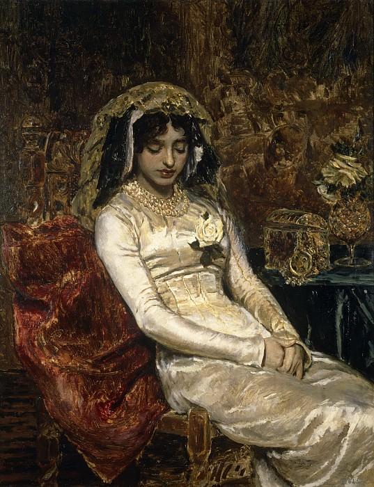 Muñoz Degrain, Antonio -- Antes de la boda. Part 2 Prado Museum