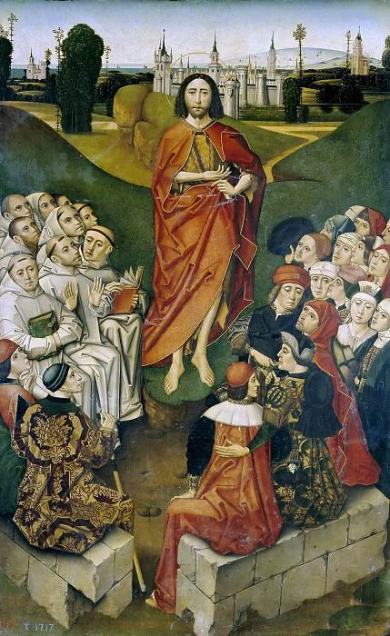 Maestro de Miraflores -- La predicación de San Juan Bautista. Part 2 Prado Museum