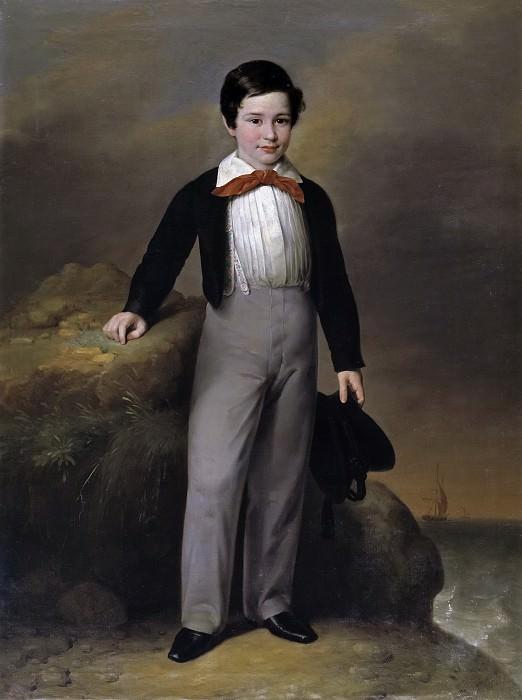 Esquivel y Suárez de Urbina, Antonio María -- Manuel Flores Calderón, niño. Part 2 Prado Museum