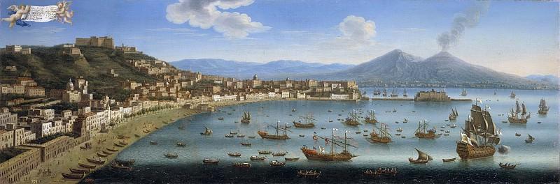 Ruiz, Juan -- Vista de Chiaia (Nápoles). Part 2 Prado Museum