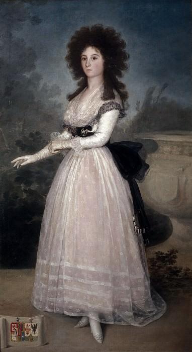 Goya y Lucientes, Francisco de -- Tadea Arias de Enríquez. Part 2 Prado Museum