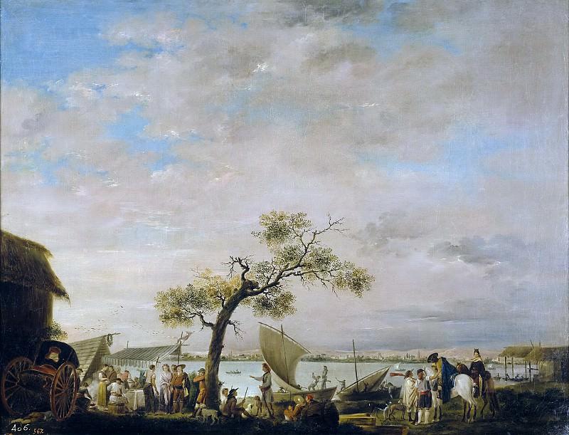 Карнисеро, Антонио -- Вид на лагуну Альбуфера в Валенсии. Часть 2 Музей Прадо
