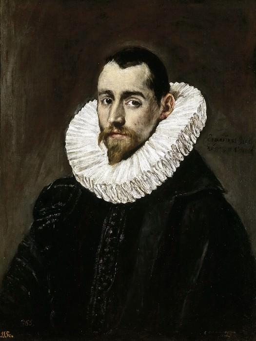 Caballero joven. El Greco