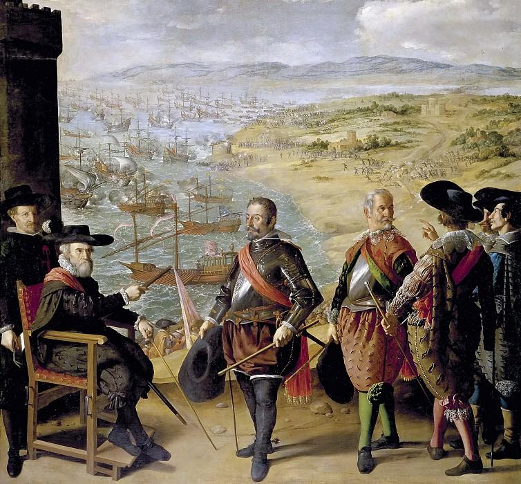 Сурбаран, Франсиско де -- Оборона Кадиса против англичан. Часть 2 Музей Прадо