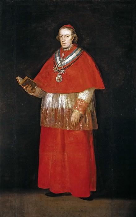 Goya y Lucientes, Francisco de -- El cardenal don Luis María de Borbón y Vallabriga. Part 2 Prado Museum