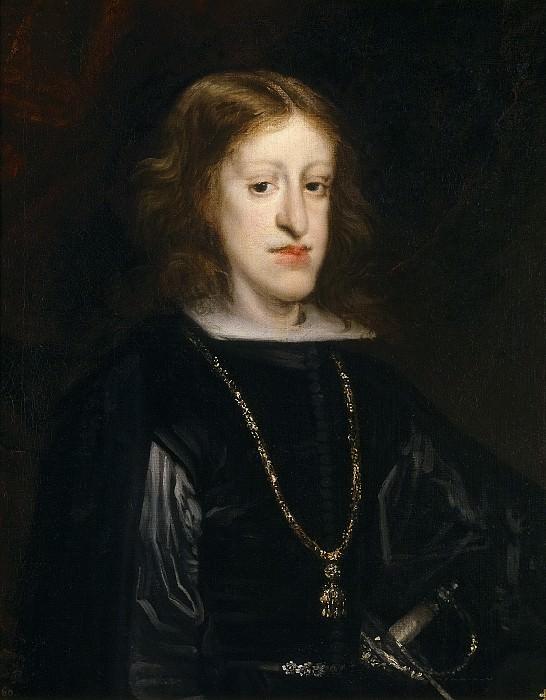 Carreño de Miranda, Juan -- Carlos II, rey de España. Part 2 Prado Museum