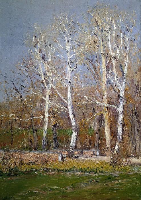 Beruete y Moret, Aureliano de -- Paisaje de invierno. Part 2 Prado Museum