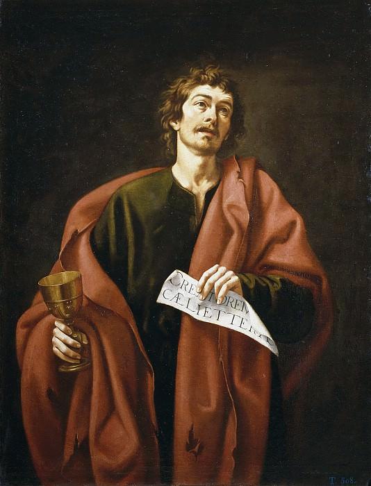 García Salmerón, Cristóbal -- San Juan Evangelista. Part 2 Prado Museum