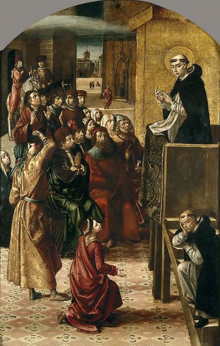 Berruguete, Pedro -- El milagro de la nube. Part 2 Prado Museum