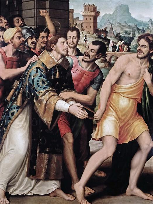 Juanes, Juan de -- San Esteban conducido al martirio. Part 2 Prado Museum