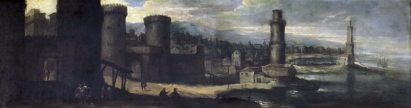 Agüero, Benito Manuel de -- Un puerto fortificado. Part 2 Prado Museum