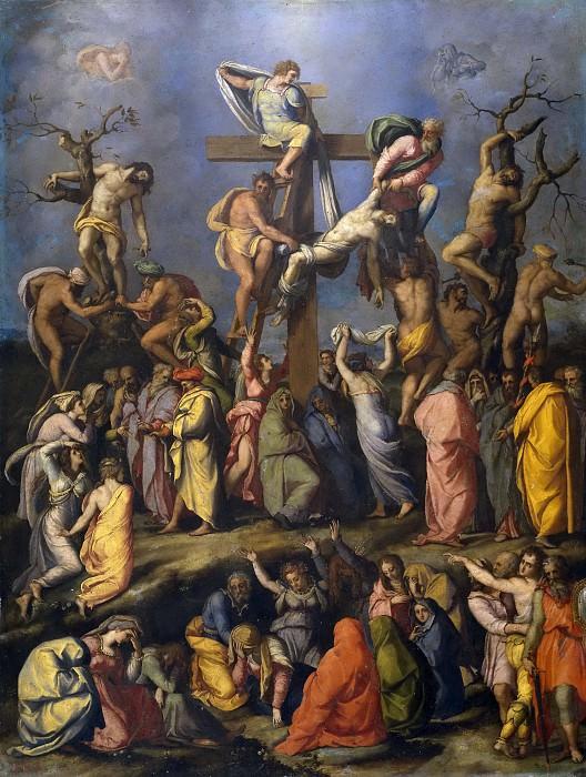 Аллори, Алессандро -- Снятие с креста. Часть 2 Музей Прадо