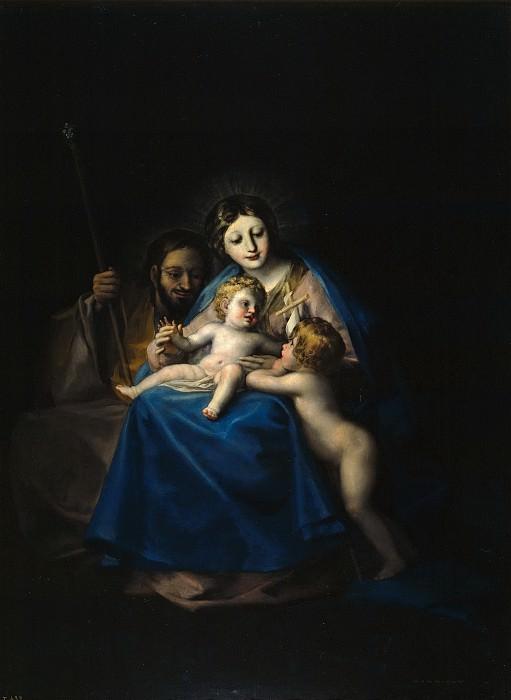 Гойя и Лусиентес, Франсиско де -- Святое семейство. Часть 2 Музей Прадо