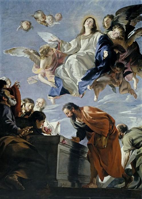 Cabezalero, Juan Martín -- La Asunción de la Virgen. Part 2 Prado Museum