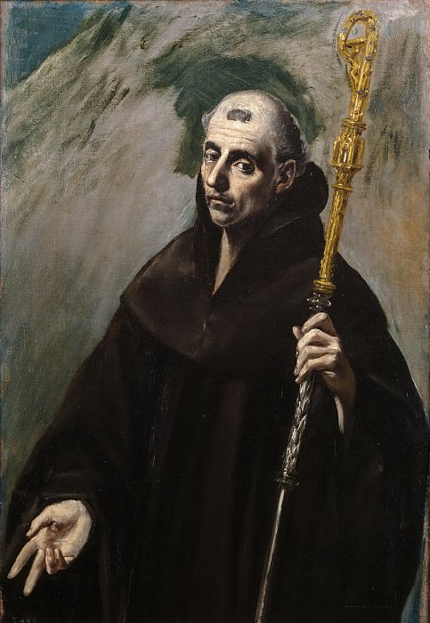 Святой Бенедикт. Эль Греко