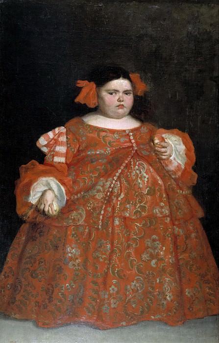 Carreño de Miranda, Juan -- Eugenia Martínez Vallejo, la Monstrua, vestida. Part 2 Prado Museum