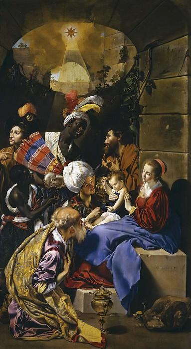 Maíno, Fray Juan Bautista -- La Adoración de los Reyes Magos. Part 2 Prado Museum