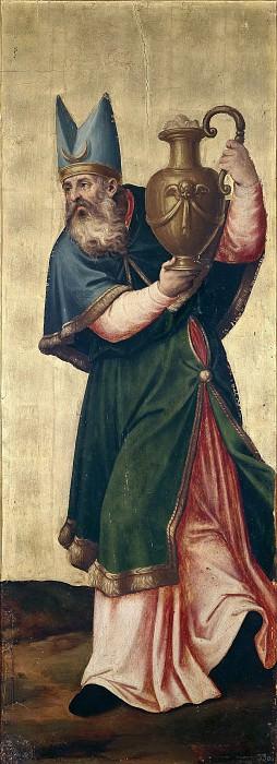 Juanes, Juan de -- El sumo sacerdote Aarón. Part 2 Prado Museum
