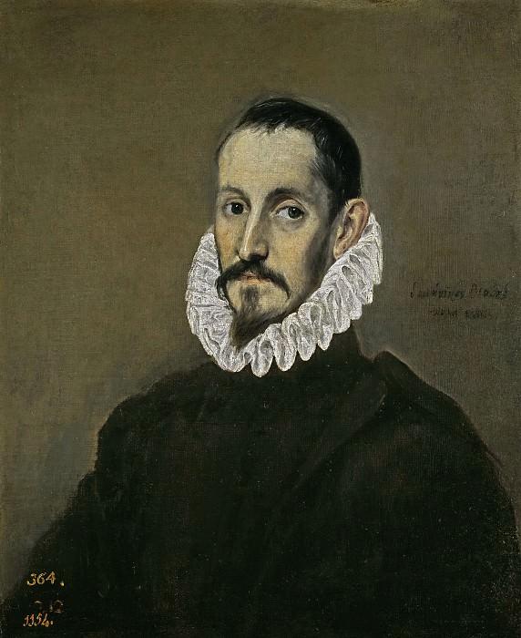 El Greco -- Un caballero. Part 2 Prado Museum