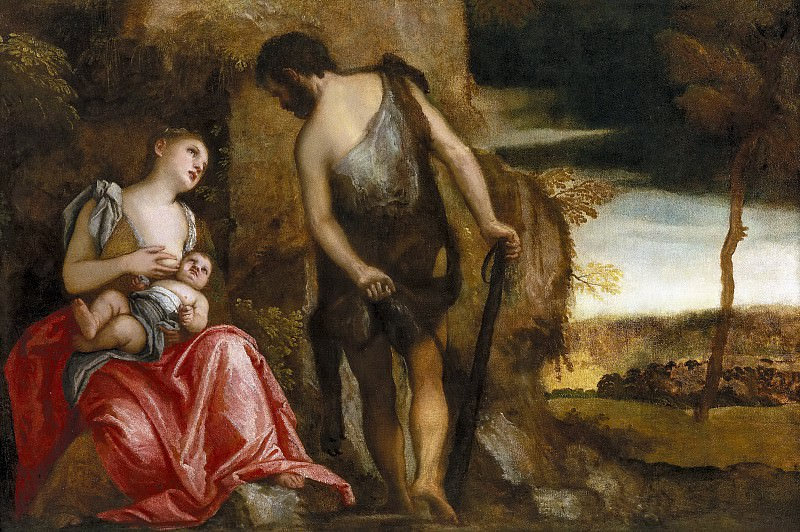 Veronese, Paolo -- La familia de Caín errante. Part 2 Prado Museum