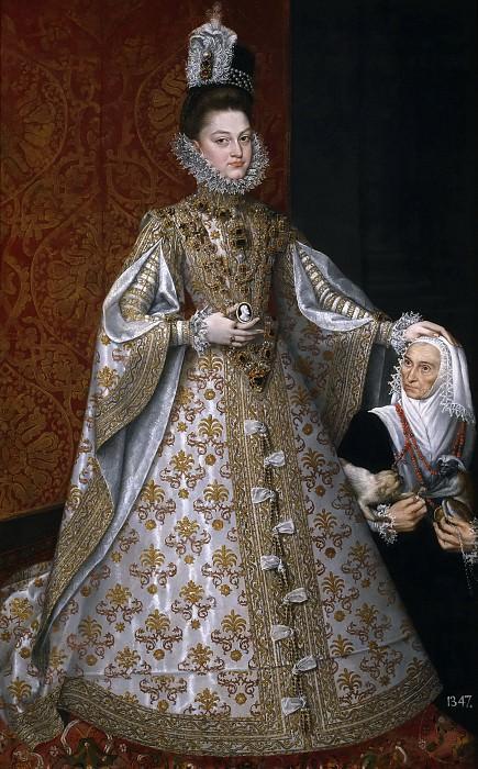 Sánchez Coello, Alonso -- La infanta Isabel Clara Eugenia y Magdalena Ruiz. Part 2 Prado Museum