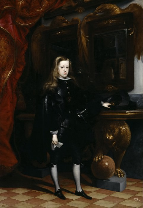 Карреньо де Миранда, Хуан -- Карл II. Часть 2 Музей Прадо