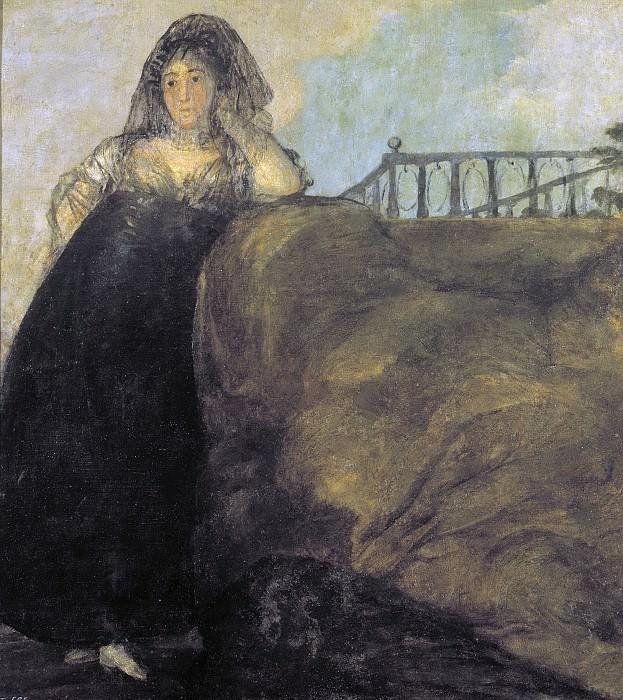 Гойя и Лусиентес, Франсиско де -- Манола: Леокадия Сорилья. Часть 2 Музей Прадо