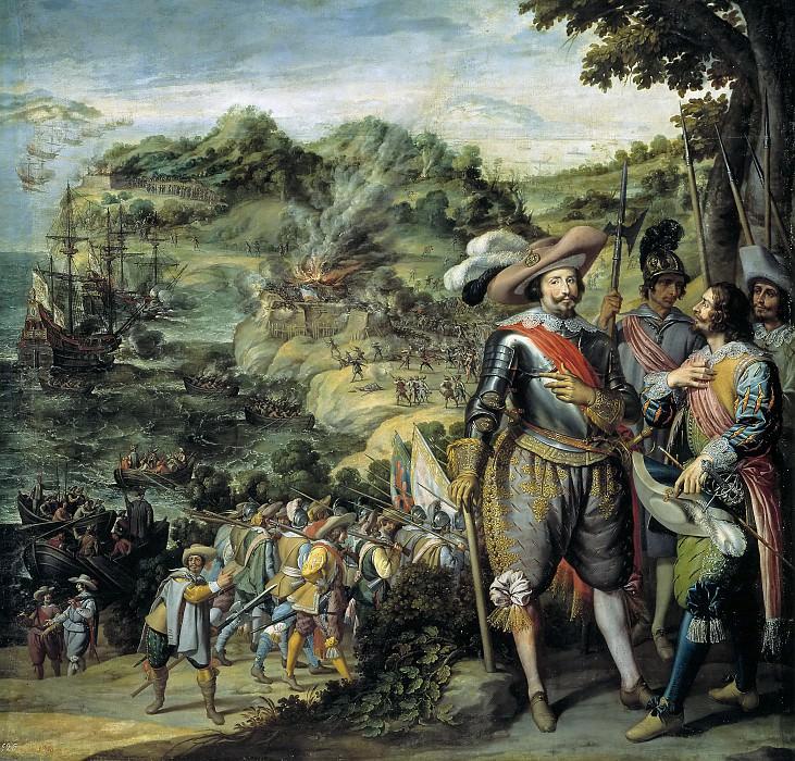 Castello, Félix -- Recuperación de la isla de San Cristóbal. Part 2 Prado Museum